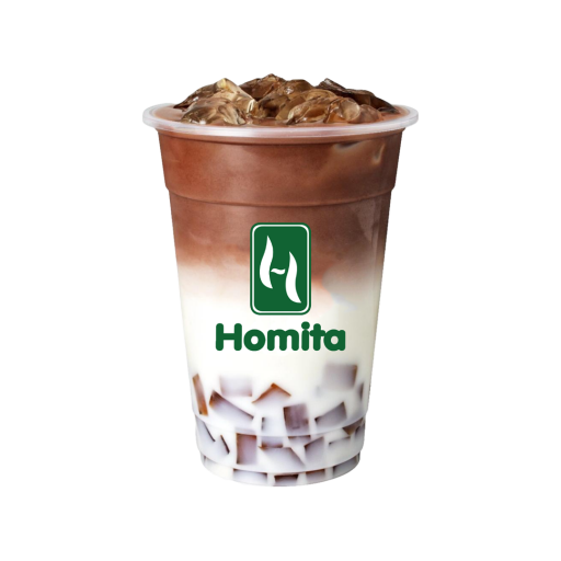 Chocolate milk shake jelly